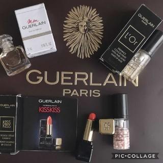 ゲラン(GUERLAIN)のGUERLAIN ゲラン 下地 リップ 香水ミニチュア4点セット(化粧下地)
