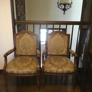 カリモク家具 - カリモク 肘つきダイニングチェア 金華山 椅子 1脚