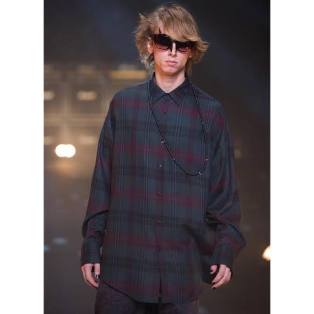 LAD MUSICIAN(ラッドミュージシャン)のLAD MUSICIAN チェックシャツ 42 メンズのトップス(シャツ)の商品写真
