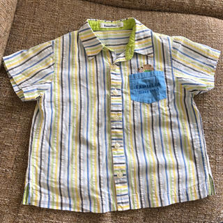 familiar - ファミリア 110センチ半袖シャツ
