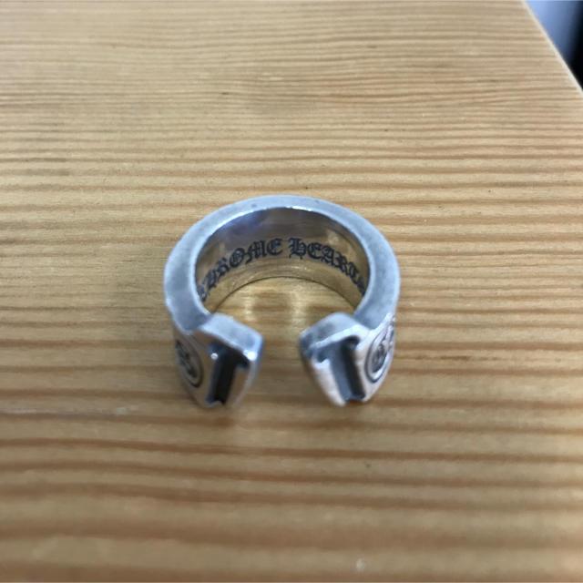 Chrome Hearts(クロムハーツ)のクロムハーツ スクロールラベルラージリング メンズのアクセサリー(リング(指輪))の商品写真