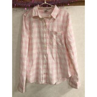 FOREVER 21 - ネルシャツ ピンク