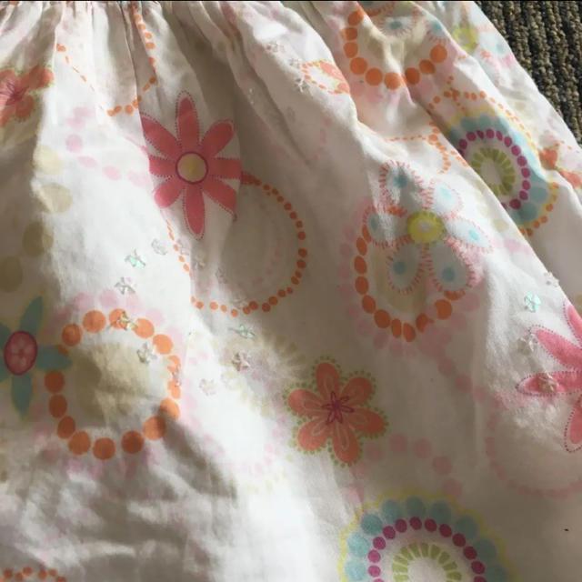 NEXT(ネクスト)の肌に優しいコットンワンピース80〜90サイズ キッズ/ベビー/マタニティのベビー服(~85cm)(ワンピース)の商品写真