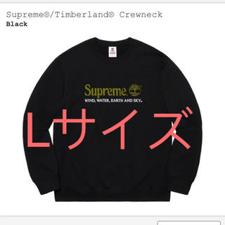 Supreme - Supreme®/Timberland® Crewneck 黒 Lサイズ