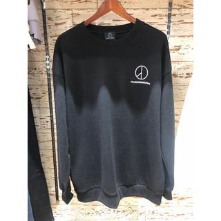 ピースマイナスワン(PEACEMINUSONE)のプリントトレーナー(Tシャツ/カットソー(七分/長袖))