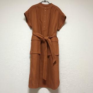 Drawer - Drawer♡ツイル スタンドカラー ドレス