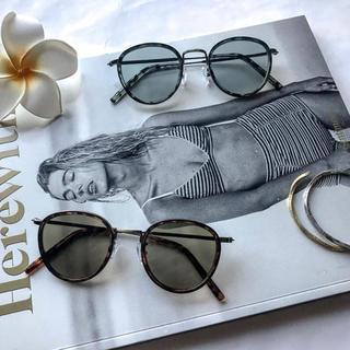 ★新品未使用★ FLEX round boston sunglasse(サングラス/メガネ)