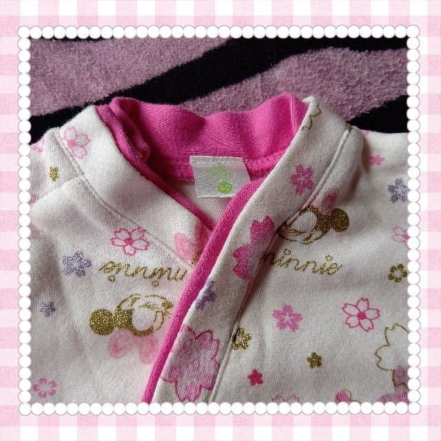 Disney(ディズニー)の80cm☆ディズニー☆袴 キッズ/ベビー/マタニティのベビー服(~85cm)(和服/着物)の商品写真
