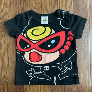 HYSTERIC MINI - ヒスミニ♡デビキン 半袖Tシャツ 80cm
