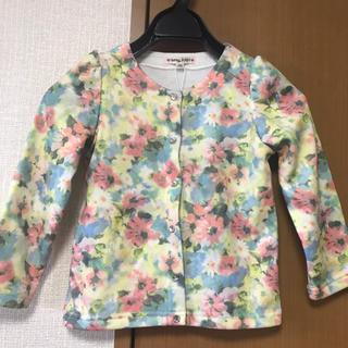 anyFAM - ☆新品未使用☆anyfam花柄カーディガン 110cm