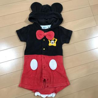 ミッキーマウス(ミッキーマウス)のミッキー ロンパース (ロンパース)