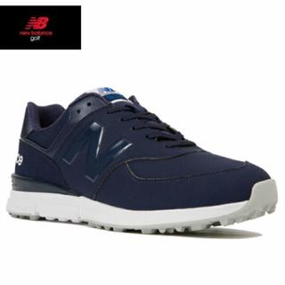 ニューバランス(New Balance)のmgs574 ニューバランスゴルフシューズ 色、サイズ希望可能。(シューズ)