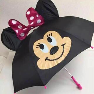 ディズニー(Disney)のラスト1点!即購入OK!新品★かわいい♫ディズニー ミニー 耳付 傘 47cm(傘)