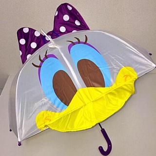 ディズニー(Disney)の即購入OK!新品タグ付き★ディズニー デイジーダック 耳付 傘 47cm(傘)