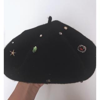ザラ(ZARA)のZARAベレー帽(ハンチング/ベレー帽)