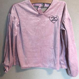 H&M - ベロア Tシャツ