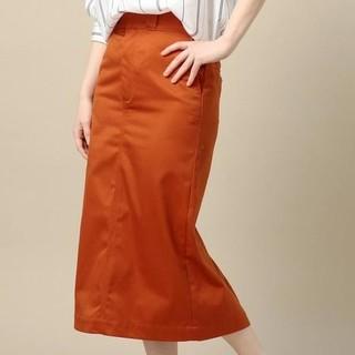 ビューティアンドユースユナイテッドアローズ(BEAUTY&YOUTH UNITED ARROWS)のBY T/Cツイルカラータイトスカート(ひざ丈スカート)