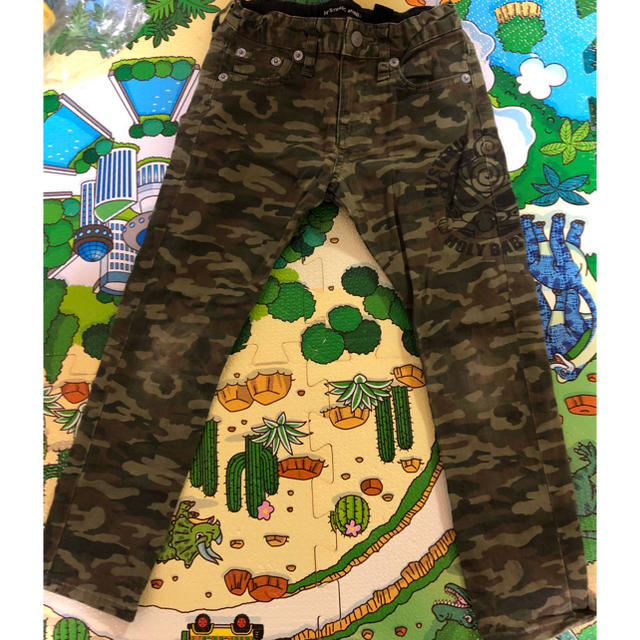 HYSTERIC MINI(ヒステリックミニ)の110 カモフラ パンツ キッズ/ベビー/マタニティのキッズ服男の子用(90cm~)(パンツ/スパッツ)の商品写真