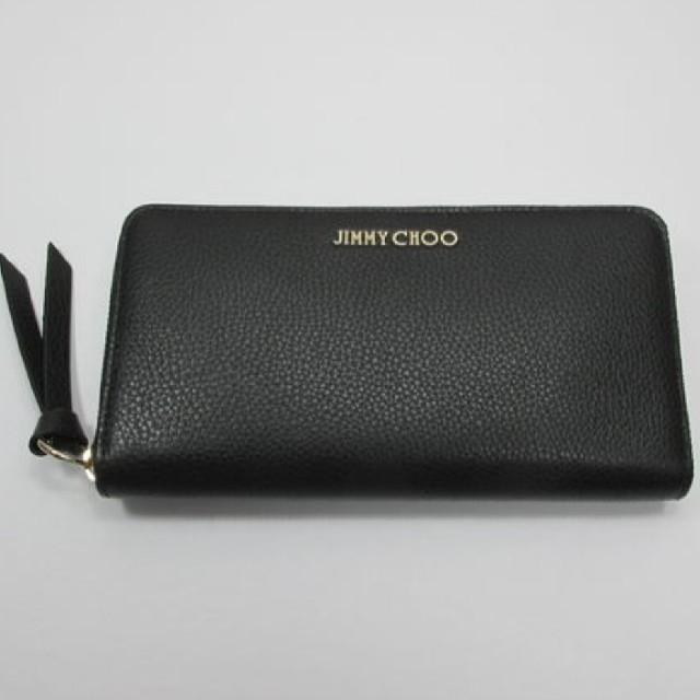 JIMMY CHOO(ジミーチュウ)の期間限定値下げ 新品未使用品 Jimmy Choo長財布 レディースのファッション小物(財布)の商品写真