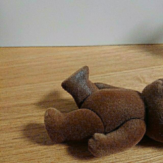 EPOCH(エポック)のシルバニアファミリー ブラウン クマ 初期 セット 人形 男の子 女の子 廃盤  キッズ/ベビー/マタニティのおもちゃ(ぬいぐるみ/人形)の商品写真