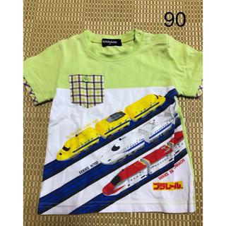 クレードスコープ(kladskap)の【中古】クレードスコープ×プラレールコラボ半袖Tシャツ★90(Tシャツ/カットソー)
