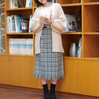 マジェスティックレゴン(MAJESTIC LEGON)の新品✨未開封❣️ 裾フリンジが可愛い♡スカート定価¥5,390円 大特価❣️(その他)
