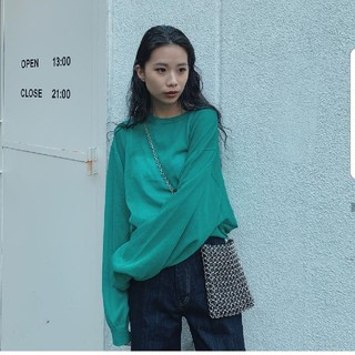 moussy - moussy 新作完売シアーニット☆新品未使用☆