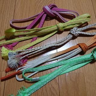 帯締め五本セット プチ福袋 カジュアル向け(和装小物)