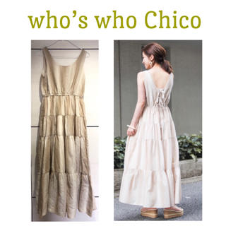 who's who Chico - 《値下げ》フーズ フー チコ ワンピース 春夏