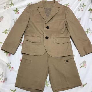 バーバリー(BURBERRY)の極美品 Burberry バーバリー スーツ セットアップ 冠婚葬祭 120(ドレス/フォーマル)