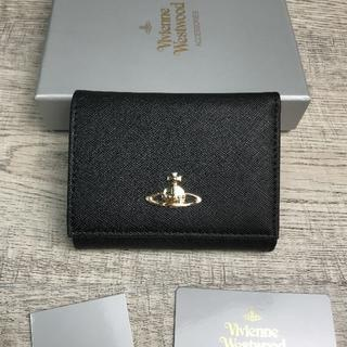 Vivienne Westwood - Vivienne Westwood◆ ミニ財布 折り財布 スナップ式 ブラック