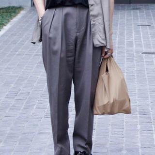 SUNSEA - stein 19ss EX wide trousers khaki