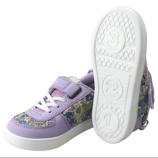 Branshes(ブランシェス)のクーポンを使ってください!Branshes×イフミー 18センチスニーカー キッズ/ベビー/マタニティのキッズ靴/シューズ(15cm~)(スニーカー)の商品写真