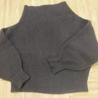 フレイアイディー(FRAY I.D)のフレイアイディ 羊毛混デザインニット(ニット/セーター)