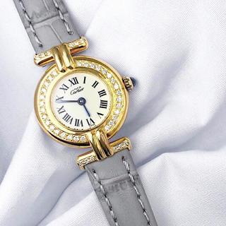 Cartier - 【仕上済】カルティエ コリゼ ゴールド ダイヤ レディース 腕時計