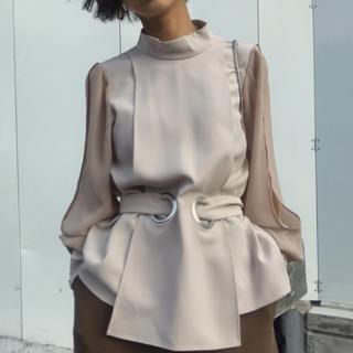 Ameri VINTAGE - タグ付き Ameri vintage Apron lady blouse アメリ