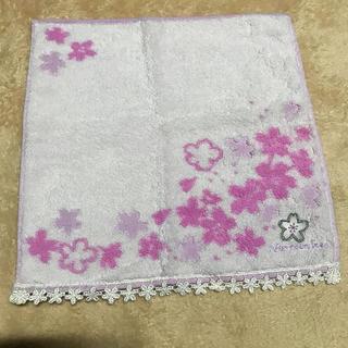 AfternoonTea - アフタヌーンティー 桜のハンドタオル 未使用