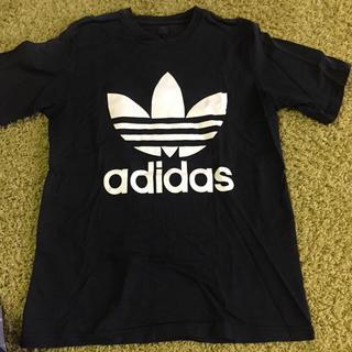 アディダス(adidas)のアディダスTシャツ黒(Tシャツ/カットソー(半袖/袖なし))