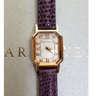 STAR JEWELRY - 極美品 スタージュエリー 腕時計