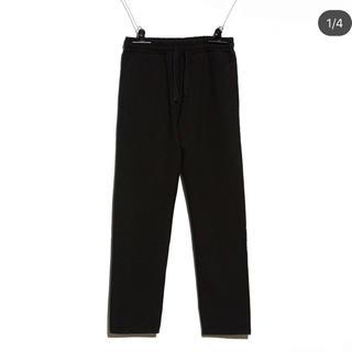 ピースマイナスワン(PEACEMINUSONE)のPMO SWEAT PANTS #1 BLACK(ショーツ)