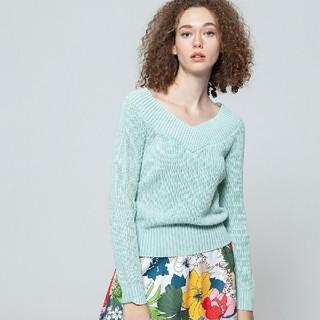 DOUBLE STANDARD CLOTHING - サンドウォッシュニットプルオーバー