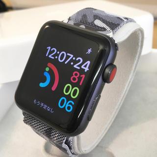 Apple Watch - アップルウォッチ series3 セルラー Apple Watch 42mm