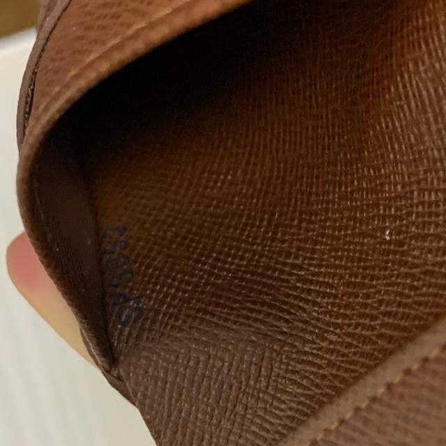 LOUIS VUITTON(ルイヴィトン)のルイヴィトン VUITTON 三つ折り財布 レディースのファッション小物(財布)の商品写真