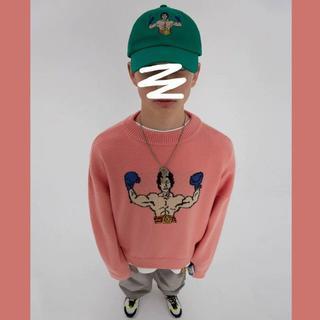 Ader error 19AW ピンク セーター FREE(ニット/セーター)