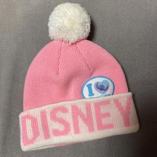 ディズニー(Disney)のディズニー スティッチ 子供ニット帽(マフラー/ストール)