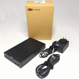 ELECOM - ラシー エレコム 外付 HDD 3TB LCH-MND030U3
