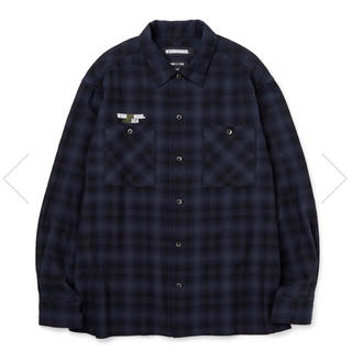 NEIGHBORHOOD WIND AND SEA チェックシャツ ネルシャツ