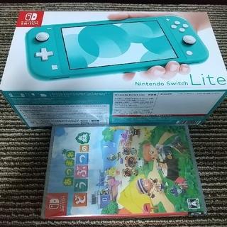 Nintendo Switch - 新品 Nintendo Switch スイッチ LITE+新品 どうぶつの森