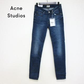 アクネ(ACNE)の新品 ACNE STUDIOS アクネ 色落ちインディゴブルー デニム W30(デニム/ジーンズ)