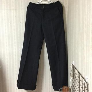 ナイスクラップ(NICE CLAUP)の黒 ズボン パンツ(カジュアルパンツ)
